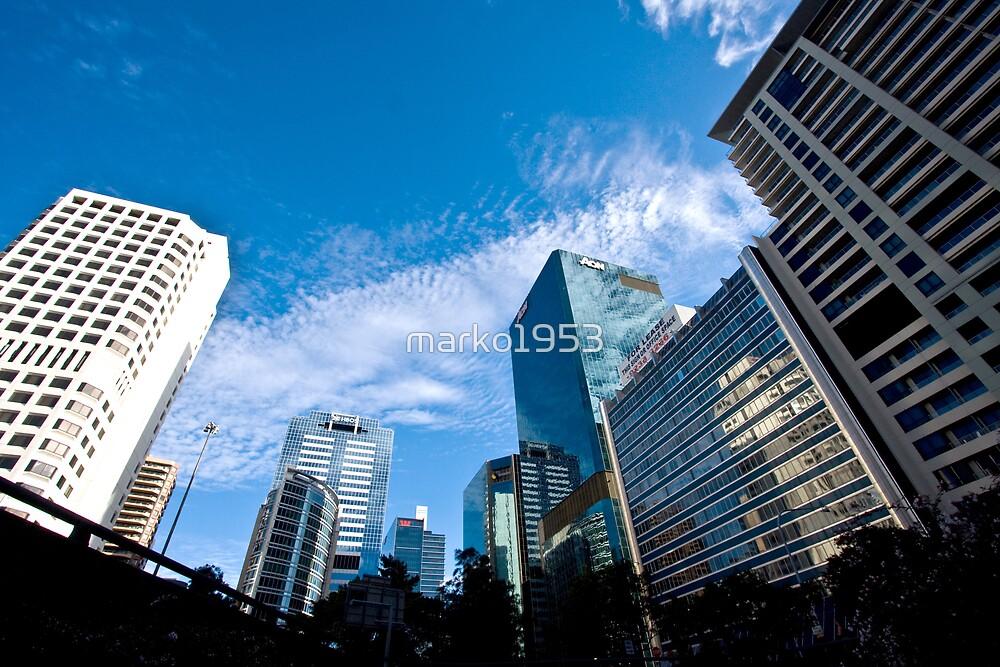 Sydney skyline by marko1953