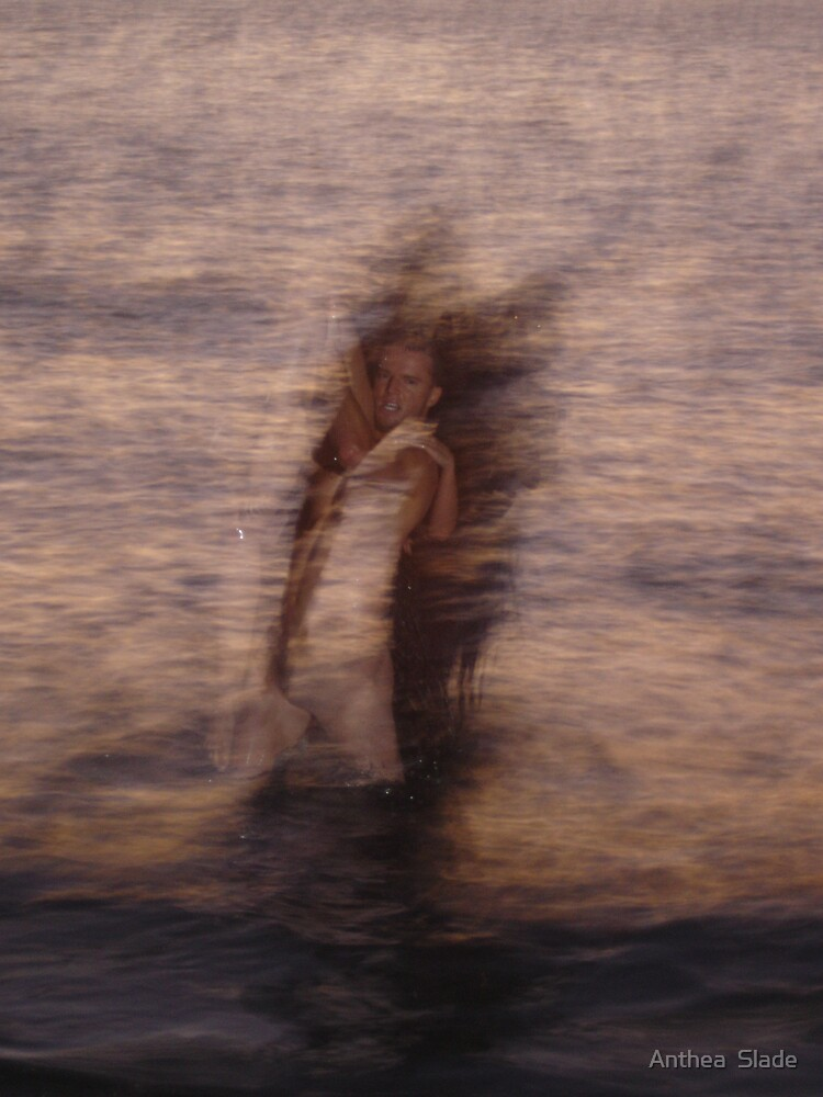 Face at Sea by Anthea  Slade