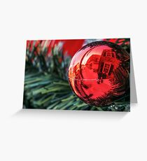 World in a Bauble Greeting Card