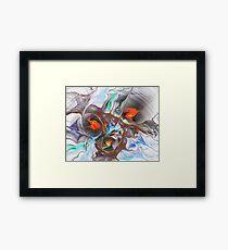 Dragon Nest Framed Print