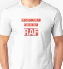 "A$AP Ferg, A$AP Rocky, RAF song - Raf Simmons ""Please Don't Touch My RAF"" T-Shirt"