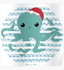 Octopus - snow 2014 limited time only !  Poster