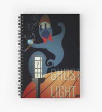 Ghost Light Spiral Notebook
