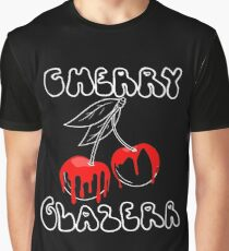 Cherry Glazerr Glazed Cherries (Dark) Graphic T-Shirt