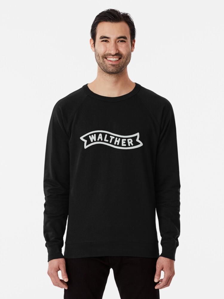 'Walther Banner - White' Lightweight Sweatshirt by Tomthechosen1