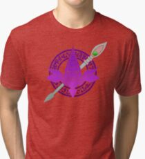 TEAM ARCANE (Yu-Gi-Oh GO) Tri-blend T-Shirt