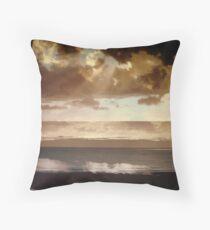 BEACHHOUSE WINDOW Throw Pillow