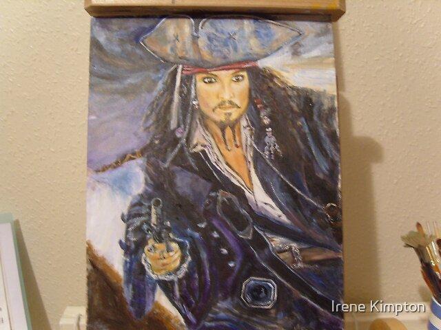Captain Jack Sparrow by Irene Kimpton