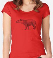 Tapir Women's Fitted Scoop T-Shirt