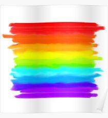 Pride Month LGBT+ Rainbow Poster