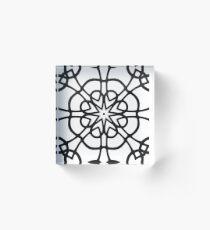 Monochrome One Acrylic Block