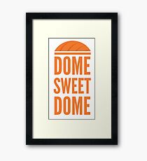 Dome Sweet Dome Framed Print