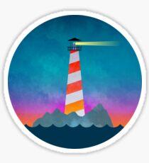 Dawning Lighthouse Sticker