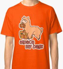 Kawaii Cute Anime Alpaca My Bags Geek Humor Design Classic T-Shirt