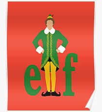 Elf- Buddy the Elf Poster