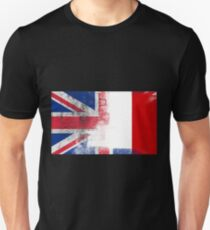 British Maltese Half Malta Half UK Flag Unisex T-Shirt