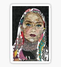 Photo Collage Portrait Sticker