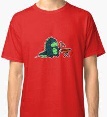 Kawaii Cute BBQ Dragon Dino Humor Geek Design Classic T-Shirt