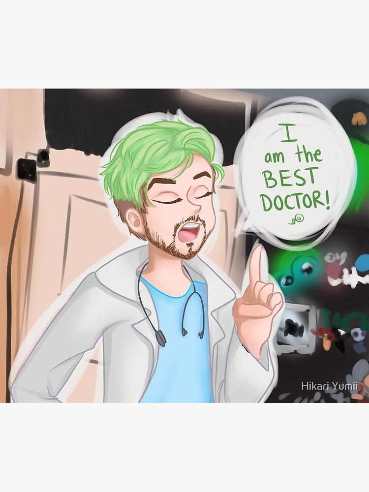 Doktor Jacksepticeye von HikariYumiArt