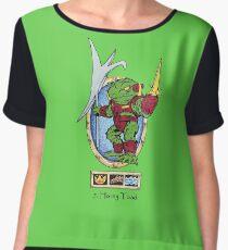 battle beasts 7. Horny Toad Chiffon Top