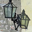 Lantern with Shadow by Ethna Gillespie