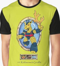 Battle Beasts 11. Rubberneck Giraffe Graphic T-Shirt