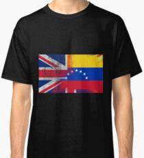 British Venezuelan Half Venezuela Half UK Flag Classic T-Shirt