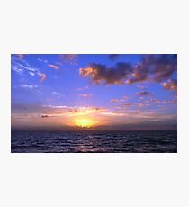 Sunrise Over Moreton Bay Photographic Print