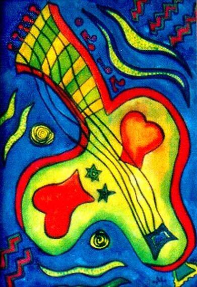 Guitar by Monesque