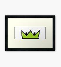 Simple Crown Framed Print