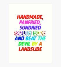 Sunday Candy South Side Art Print