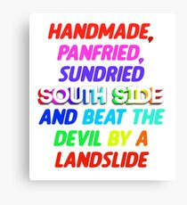 Sunday Candy South Side Canvas Print