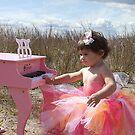Pink Baby Grand by Renee Eppler