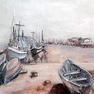 Old Cape Cod by Carolyn Bishop