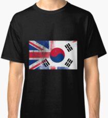 British Korean Half South Korea Half UK Flag Classic T-Shirt