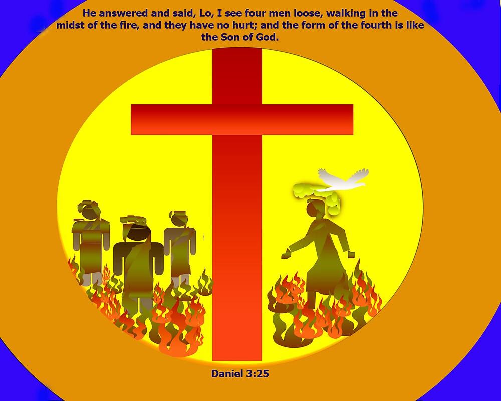 Daniel 3:25 by brenwebb