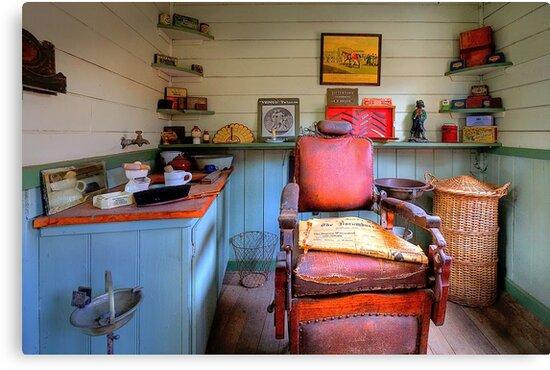 0527 Coal Creek Barber Shop - Korumburra Vic by Hans Kawitzki