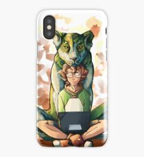 The Green Lion iPhone Case/Skin
