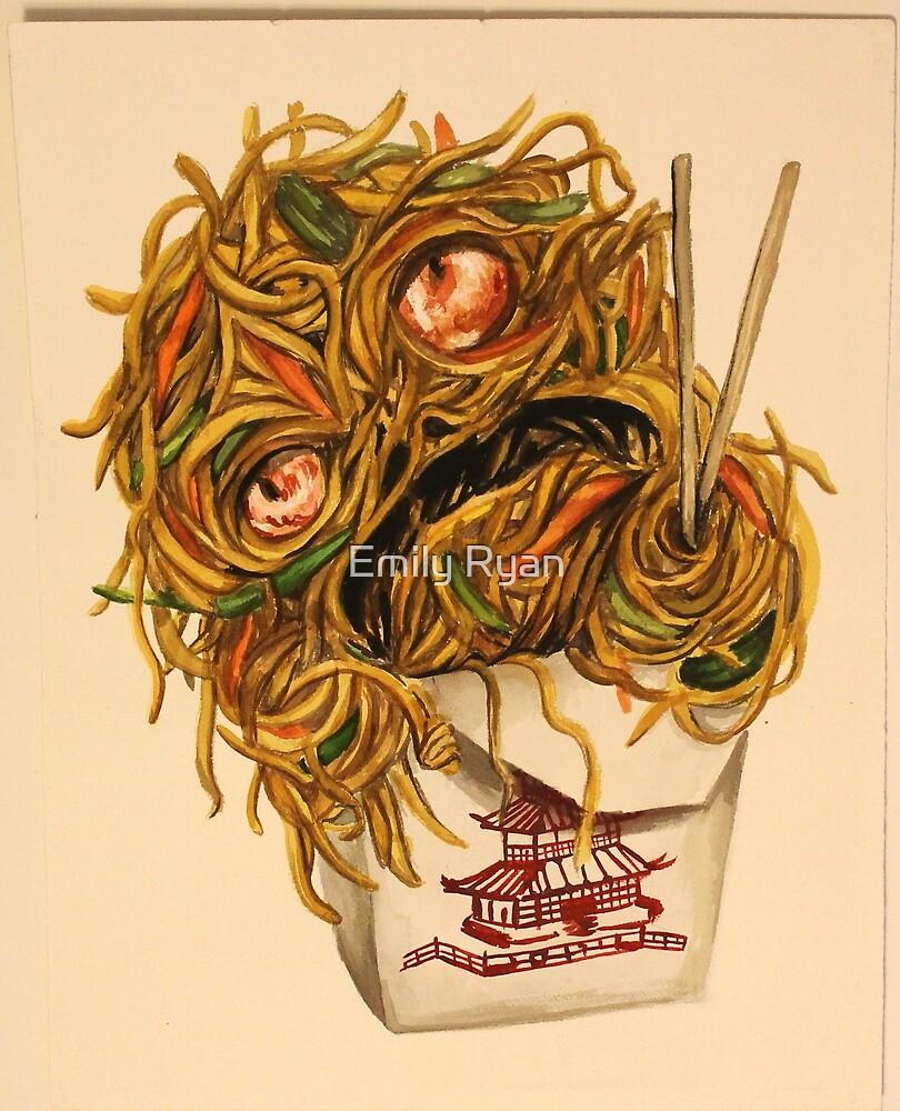 Wok Ness Monster by Emily Ryan