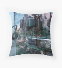 Eclectic by Chevy Truck  Throw Pillow