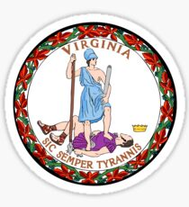 Virginia State Seal Sticker