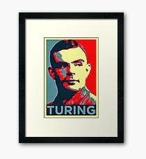 alan turing Framed Print