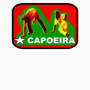 Capoeira Street Tee 2 by deeda