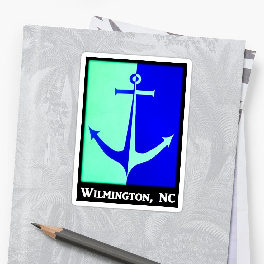 Wilmington NC Anchor by Nautic Dreams