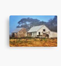 0543 Outbuildings - Anakie Canvas Print