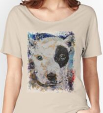 Pit Bull Puppy Women's Relaxed Fit T-Shirt