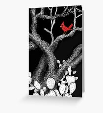 The return of the Cardinal  Greeting Card