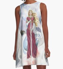 Lady of the Lake A-Line Dress
