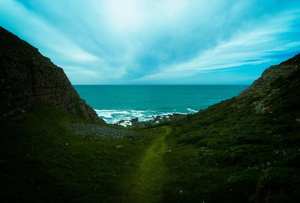 Gower Peninsula in Wales by Yukondick