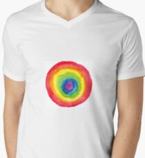 Energetic Abstractions - Painted Chakra Circle #5 T-Shirt